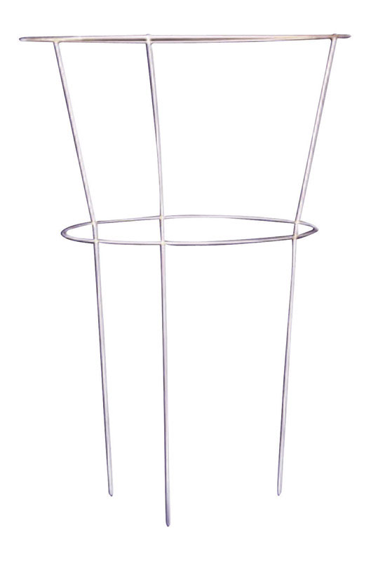 Glamos Wire  30 in. H x 18 in. W Gray  Peony Cage  Steel