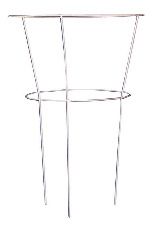 Glamos Wire  30 in. H x 18 in. W Gray  Steel  Peony Cage