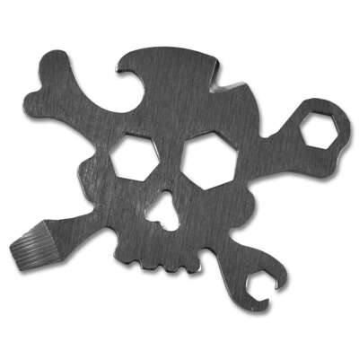Trixie and Milo  Pirate  Multi-Tool  Silver  1 pc.