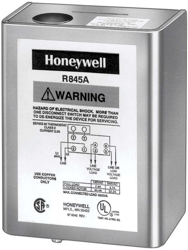 Honeywell  1 Pole  120 volt Furnace Relay