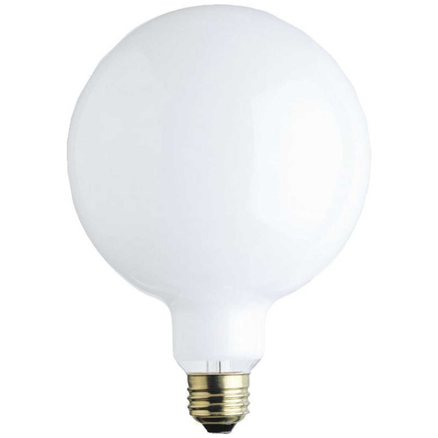 Ace  60 watts G40  Incandescent Light Bulb  680 lumens White (Frosted)  1 pk Globe