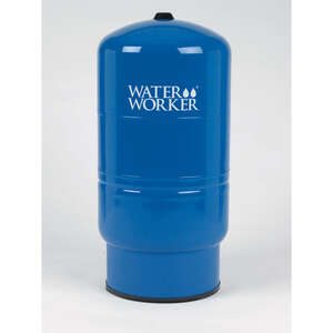 Water Worker  30  Pre-Charged Vertical Pump Tank  37 in. H x 16 in. W x 16 in. L FPT