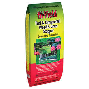 Hi-Yield  Turf and Ornamental  Organic Crabgrass Preventer  Granules  12 lb.