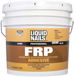 Liquid Nails  FRP Fiberglass Reinforced Plastic Panel  High Strength  Acrylic Latex  Adhesive  3.5 g