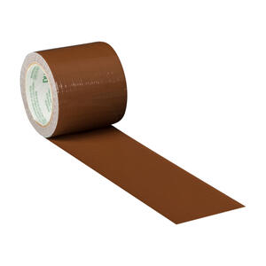 Duck  1.88 in. W x 5 yd. L Brown  Solid  Duct Tape