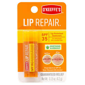 O'Keeffe's  Lip Repair  No Scent Lip Balm  0.15 oz. 1 pk