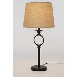 Living Accents  25 in. Oil-Rubbed  Table Lamp