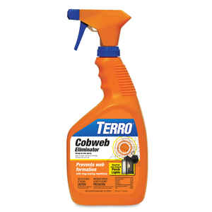 TERRO  Cobweb Eliminator  Liquid  1 qt.