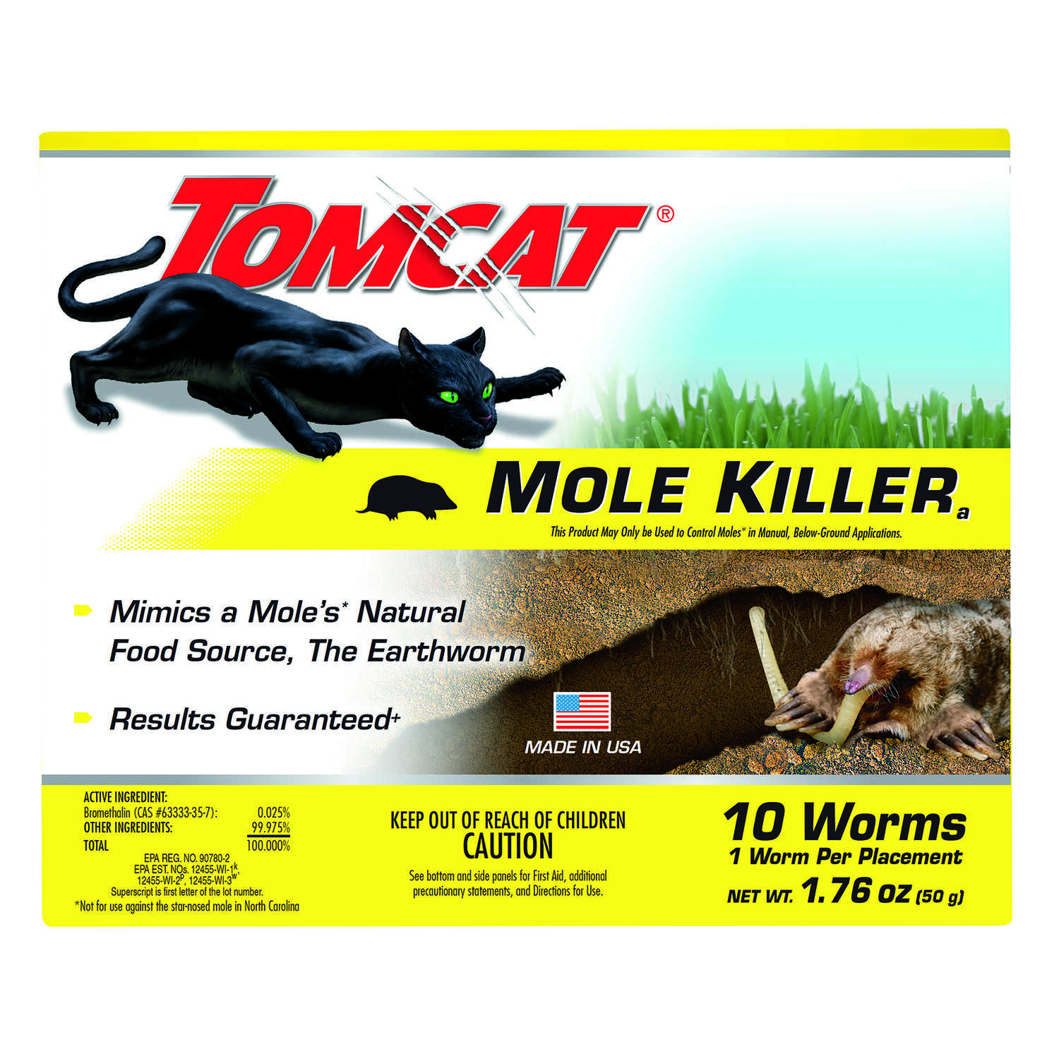 Tomcat Bait Worms For Moles 10 pk - Ace Hardware