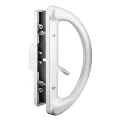 Prime-Line  Metal  Indoor and Outdoor  Patio Door Handle Set