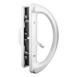 Prime-Line  Metal  Patio Door Handle Set  Indoor and Outdoor
