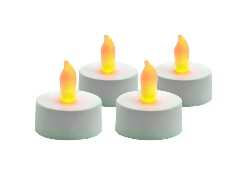 Sterno  White  Tealight  Candle  .75 in. H