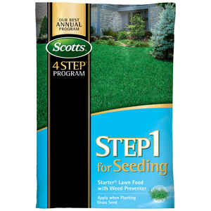 Scotts  Step 1  Starter Lawn Food  For All Grass Types 12.52 lb.