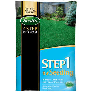 Scotts  Step 1  Starter Lawn Food  For All Grass Types