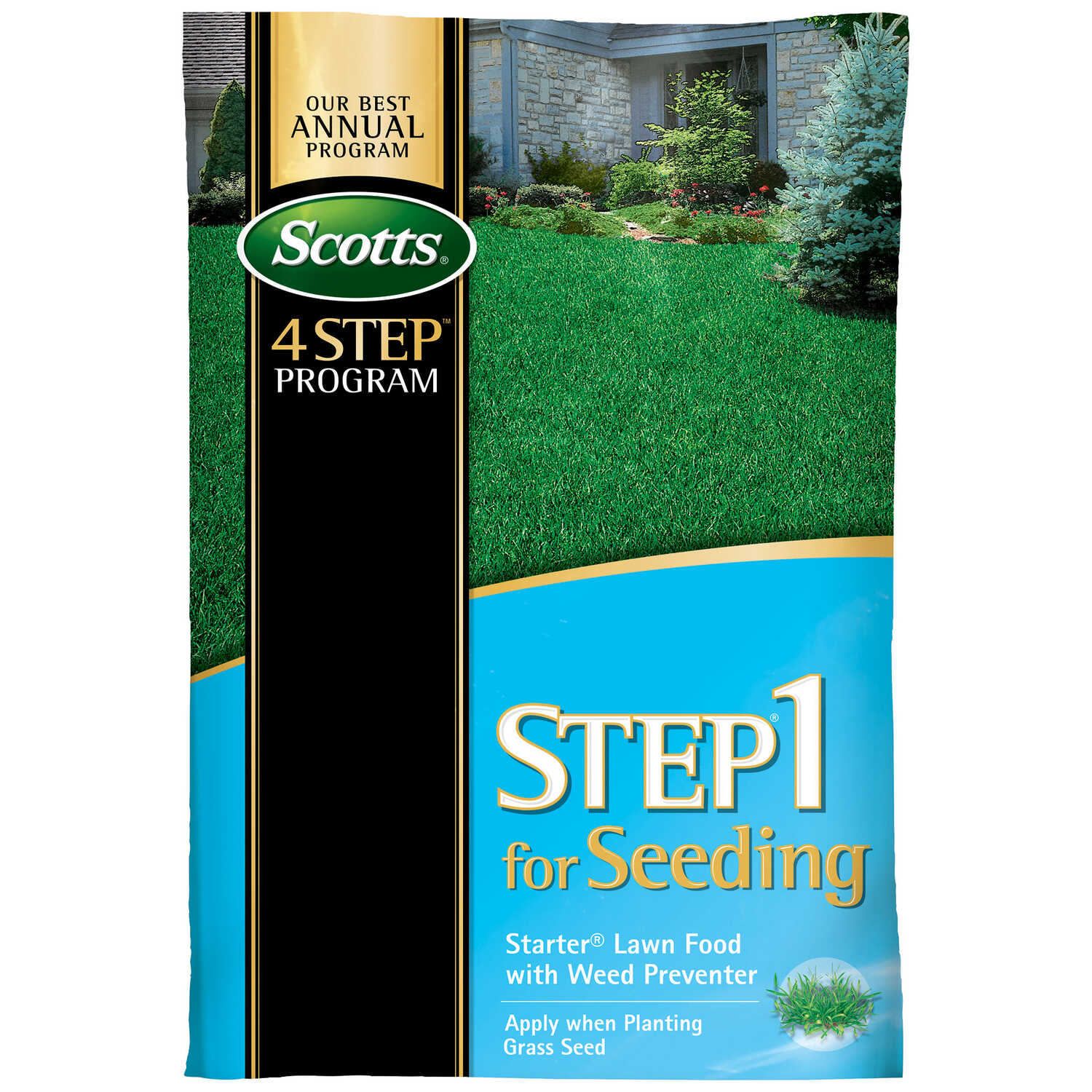 Scotts Step 1 Starter Lawn Food For All Grass Types 12 52