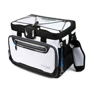 Arctic Zone  Titan DeepFreeze  Cooler Bag  30 cans White