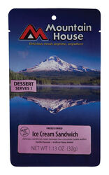 Mountain House  Ice Cream Sandwich  Freeze Dried Food  1.13 oz. Pouch