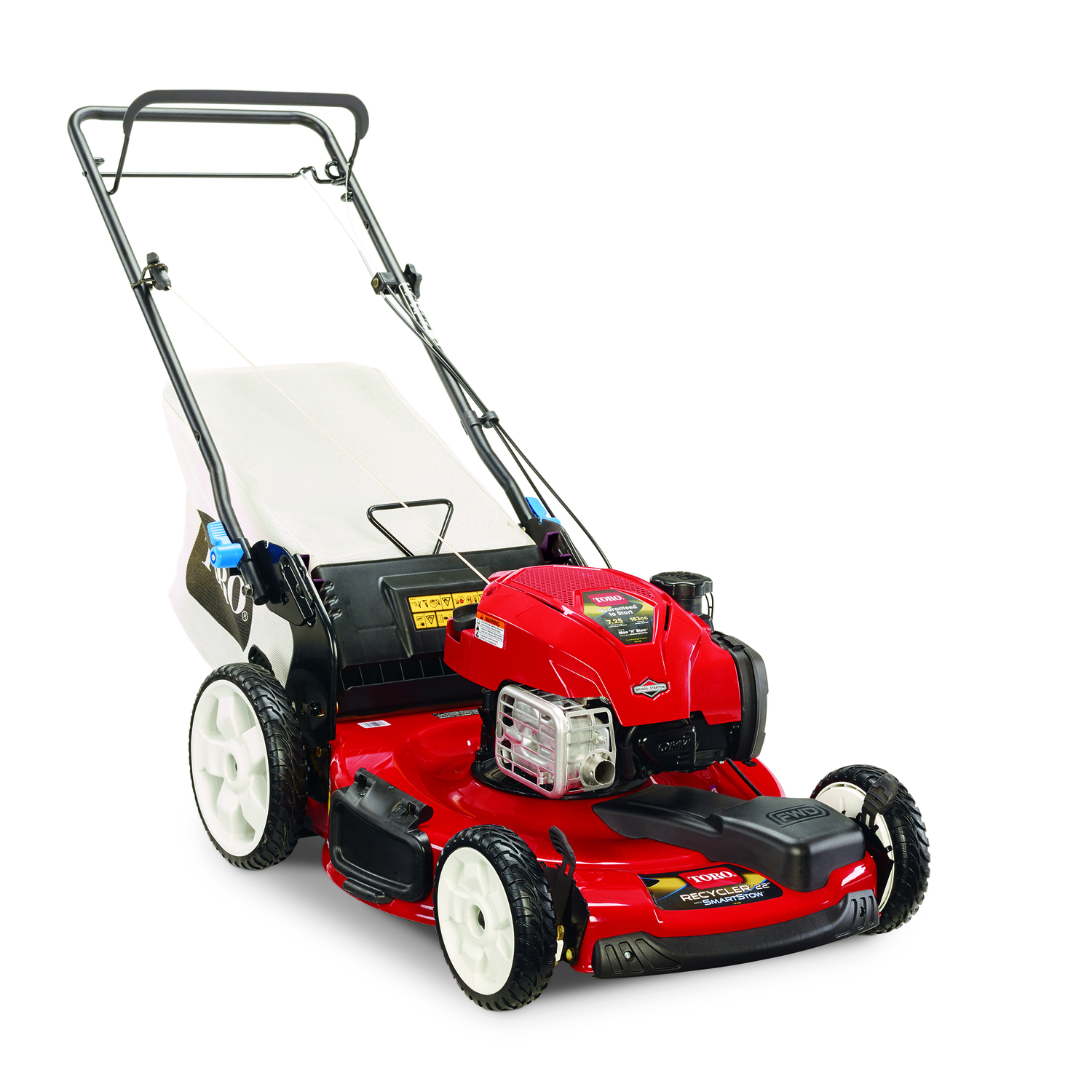 Toro Smart Stow 22 in. 163 cc Self-Propelled Lawn Mower