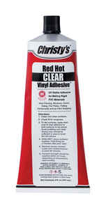 Christys  Red Hot  Clear  Adhesive  For PVC/Vinyl 1.5 oz.