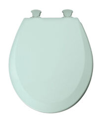 Mayfair  Round  Seafoam  Molded Wood  Toilet Seat