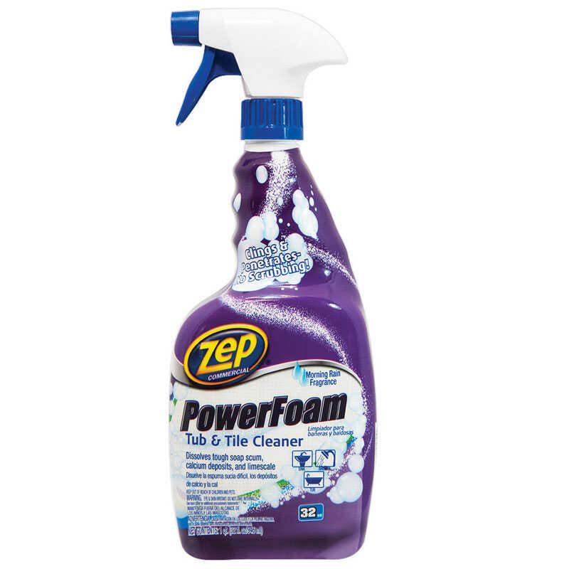 Zep  Morning Rain Scent Tub and Tile Cleaner  32 oz. Trigger Spray Bottle