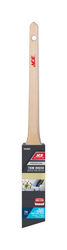 Ace  Premium  1 in. W Medium Stiff  Angle  Trim Paint Brush