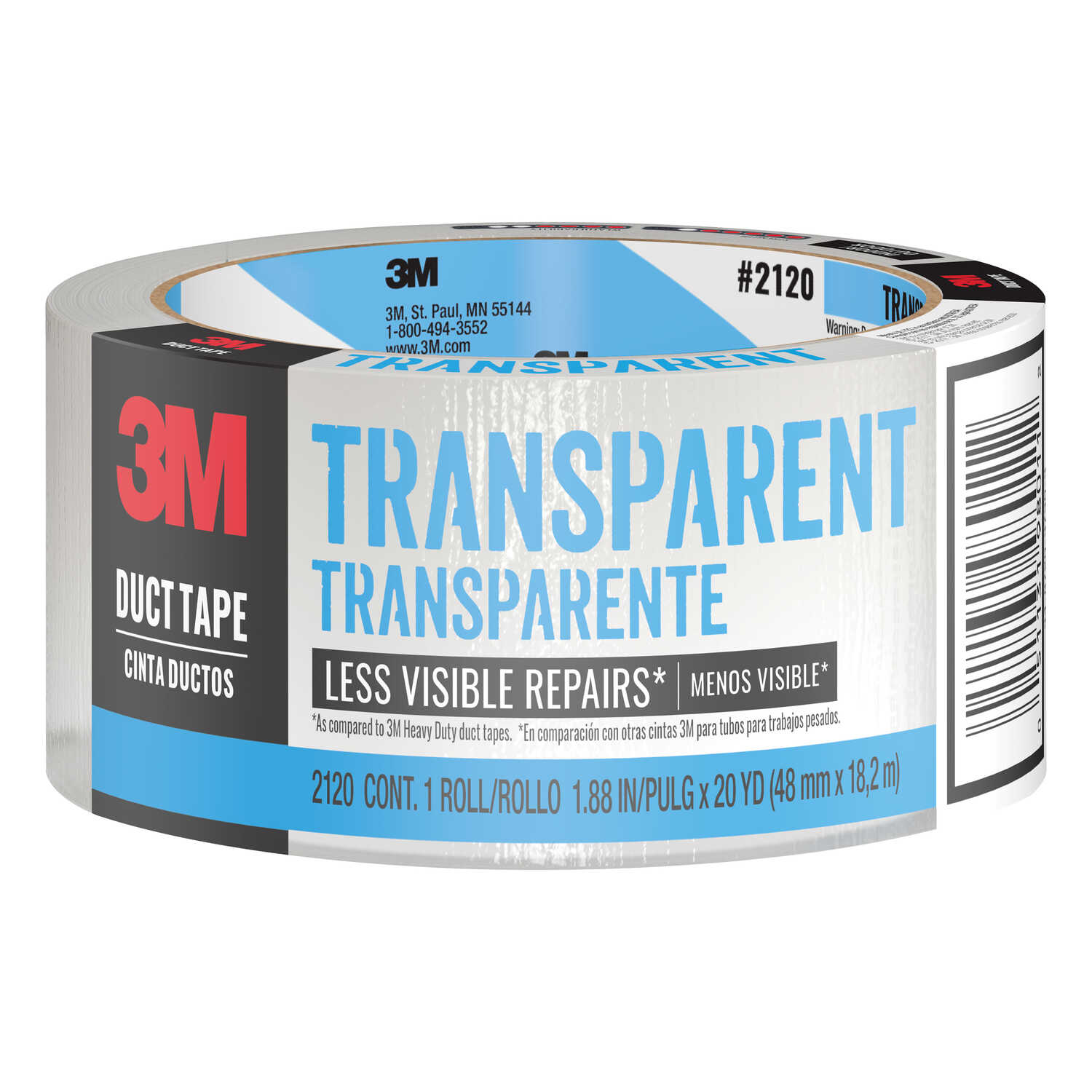 Scotch 20 yd. L x 1.88 in. W Clear Duct Tape - Ace Hardware