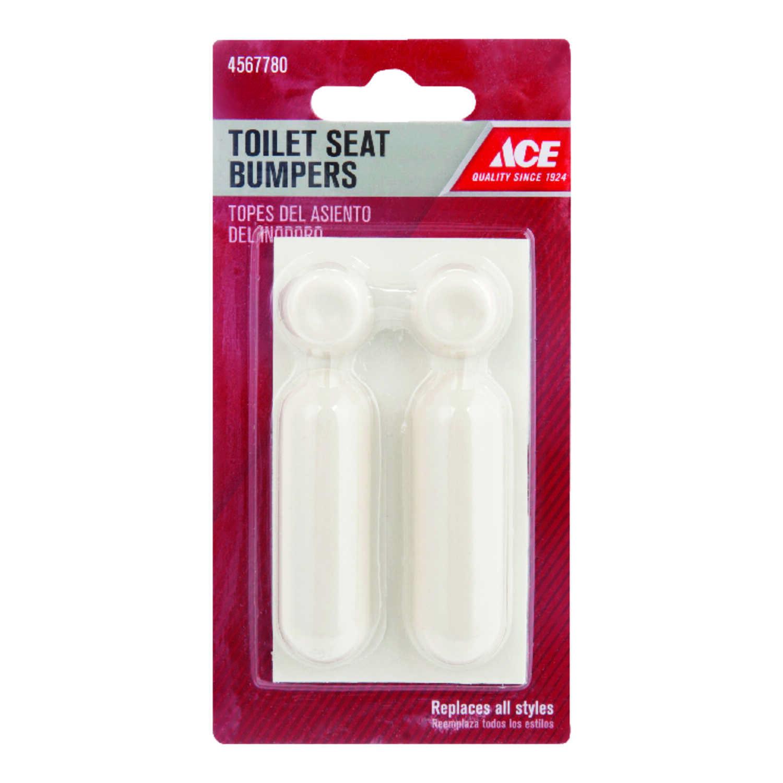 Outstanding Ace Toilet Seat Bumpers White Plastic Ace Hardware Machost Co Dining Chair Design Ideas Machostcouk