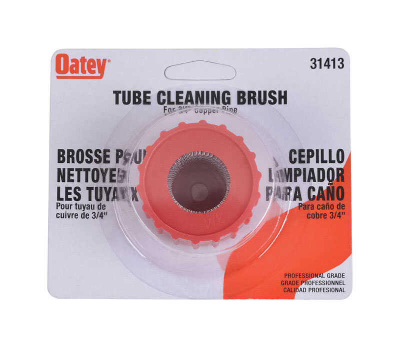 Oatey  Tube Cleaning Brush  3/4