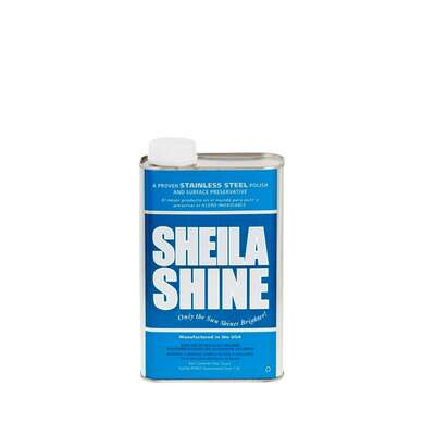 Sheila Shine  No Scent Stainless Steel Cleaner & Polish  32 oz. Liquid