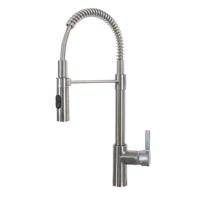 Franke  Fuji  Pull Down  One Handle  Satin Nickel  Kitchen Faucet