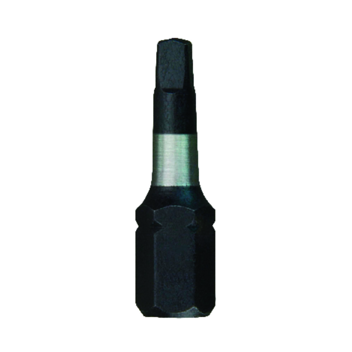 Milwaukee  SHOCKWAVE  Square  #1   x 1 in. L Impact Duty  Screwdriver Bit  Steel  1/4 in. Hex Shank