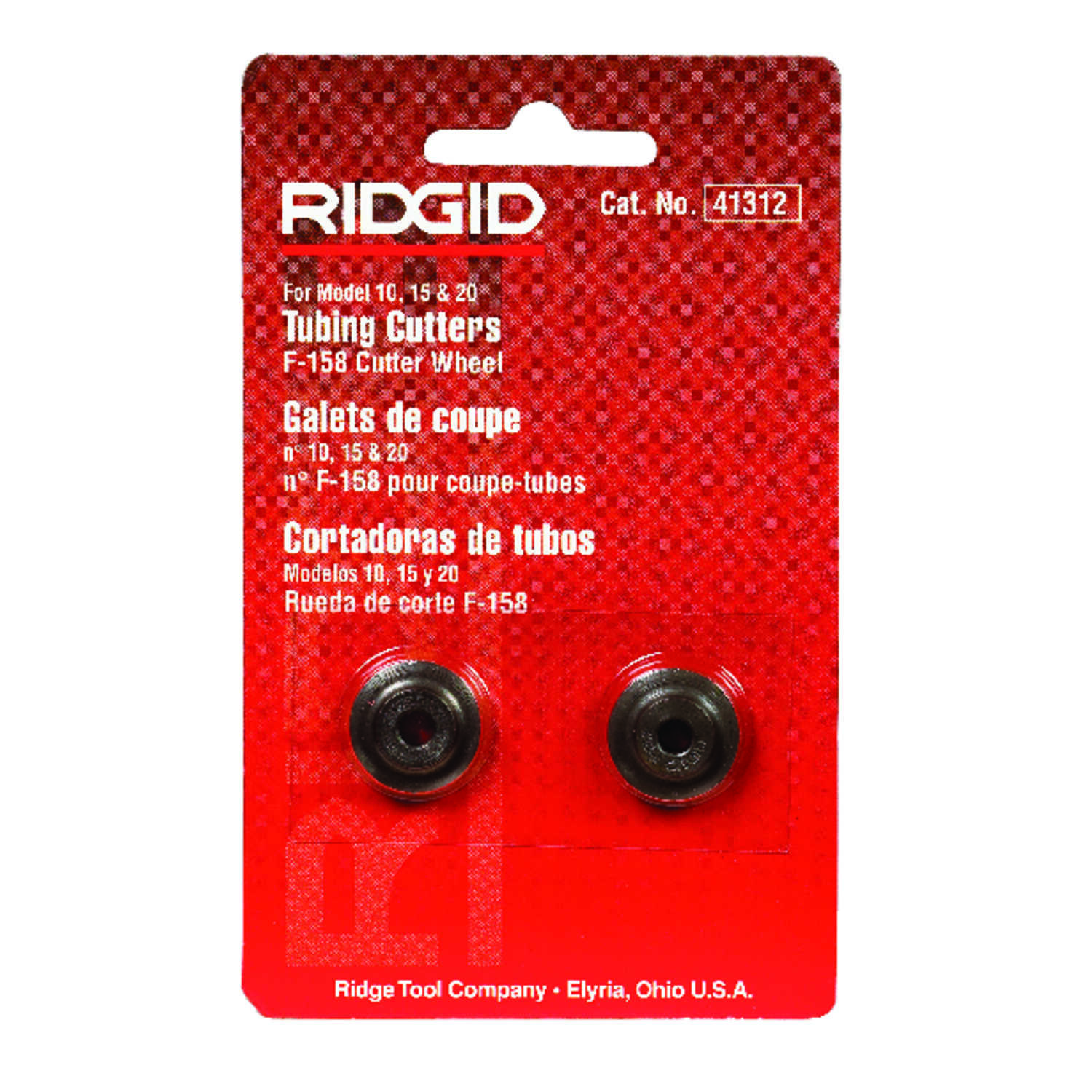 Ridgid  2 1/2 in. Dia. Replacement Cutter Wheel