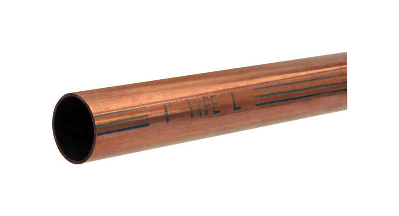 Mueller  3/4 in. Dia. x 5 ft. L Type L  Copper Water Tube
