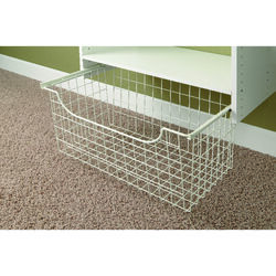 Easy Track  12 in. H x 24 in. W x 14 in. L Stainless Steel  Closet Organizer  1 pk
