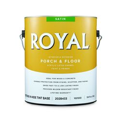 Royal  Satin  Mid-Tone Base  Porch & Floor Paint  1 gal.