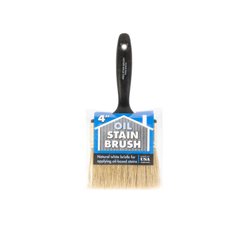 Wooster  4 in. W Flat  Oil-Based Paint Brush