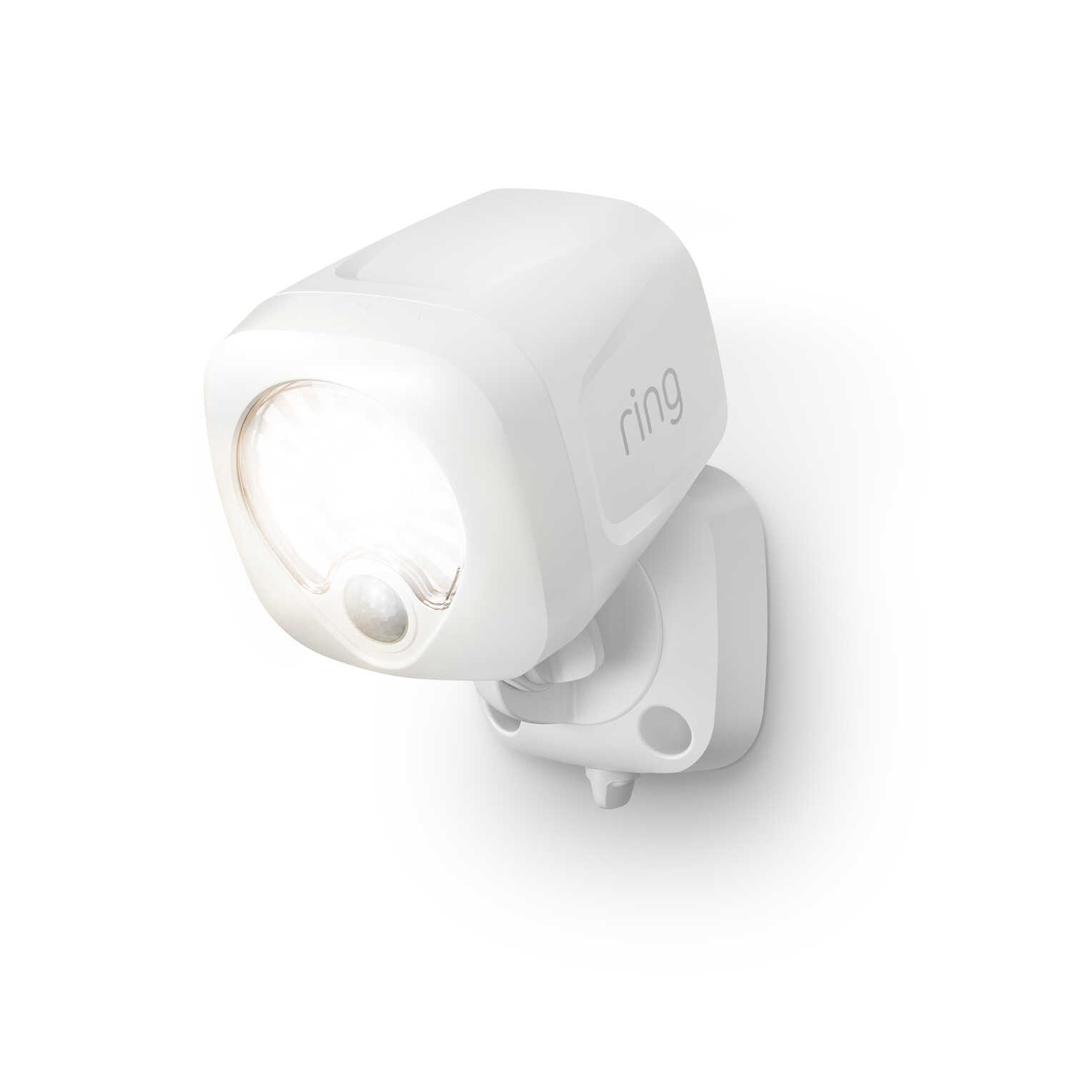 Ring  Motion-Sensing  Battery Powered  LED  White  Spotlight