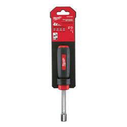Milwaukee  3/8 in. SAE  Hollow Shaft Nut Driver  7 in. L 1 pc.