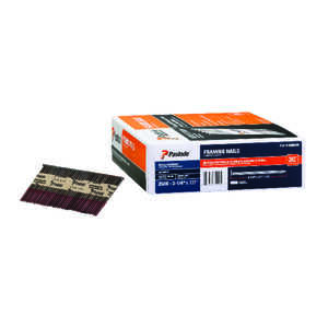 Paslode Framing Nail Angled  3-1/4 in. x 0.131 in.  Paper Collated Smooth  2,500 / Box