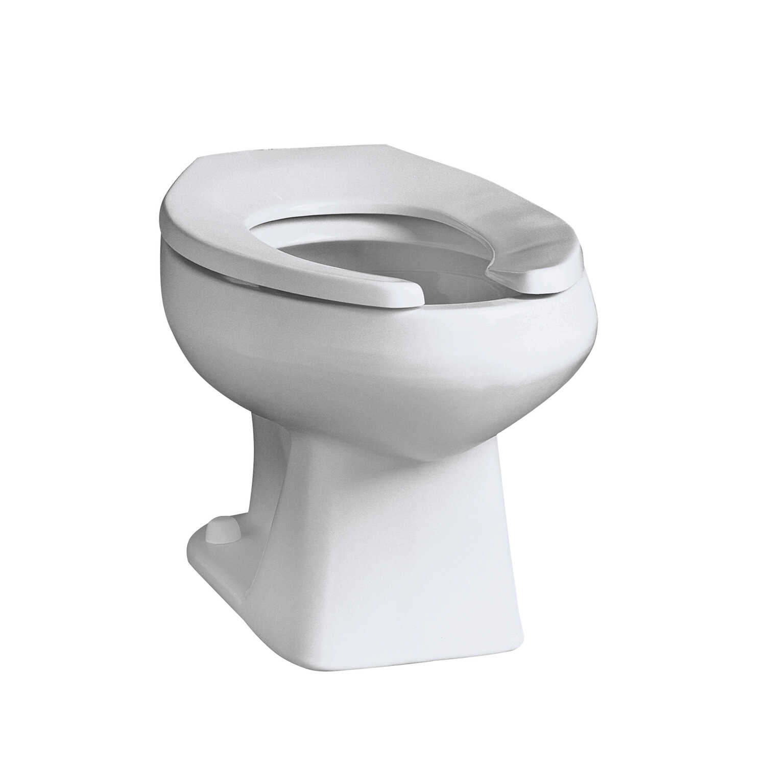 Mansfield  Elongated  Toilet Bowl  1.6 gal. White