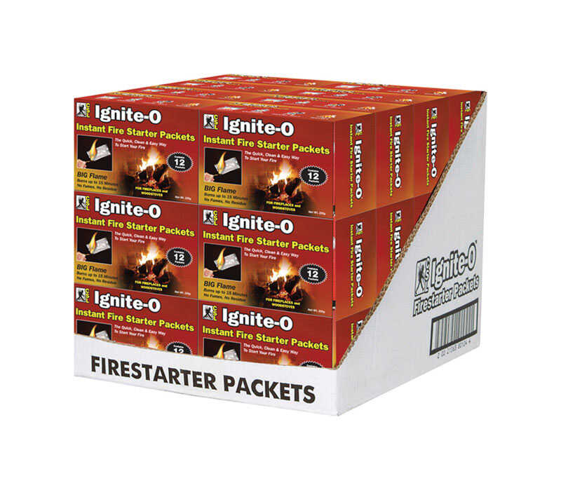 CSL  Ignite-O  Wax  Fire Starter  1 pk