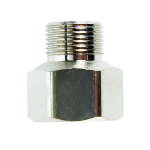 JMF  3/8 in. Female Flare   x 3/8 in. Dia. Male Compression  Brass  Compression Adapter