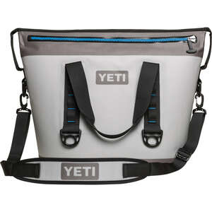 YETI  Hopper Two 30  Cooler Bag  24 can Gray  1 pc.