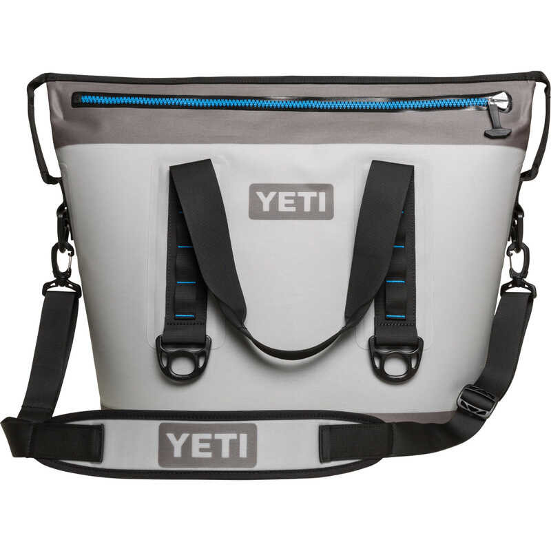 YETI  Hopper  Cooler Bag  23 can capacity Blue/Gray  1 pk