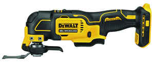 DeWalt  Atomic  20 volt Cordless  Oscillating Multi-Tool  18000 opm Yellow  1 pc.
