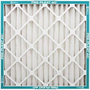 Flanders-Percisionaire  40 LPD  14 in. H x 25 in. W x 1 in. D Air Filter