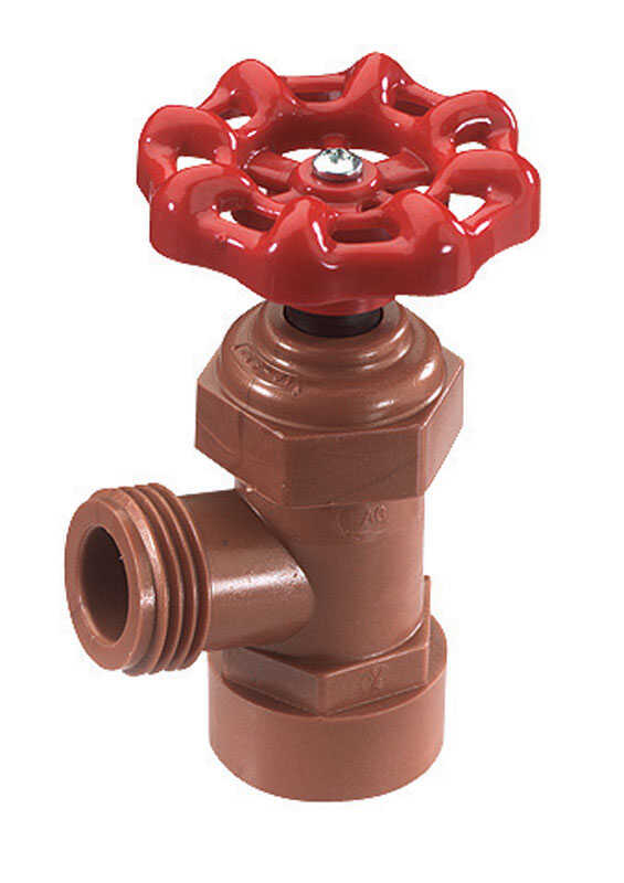 NDS  1/2   x 1/2   Celcon  Boiler Drain Valve  FPT x MHT  Lead-Free