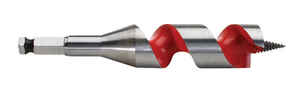 Milwaukee  1-1/8 in. Dia. x 6 in. L Ship Auger Bit  Hardened Steel  1 pc.