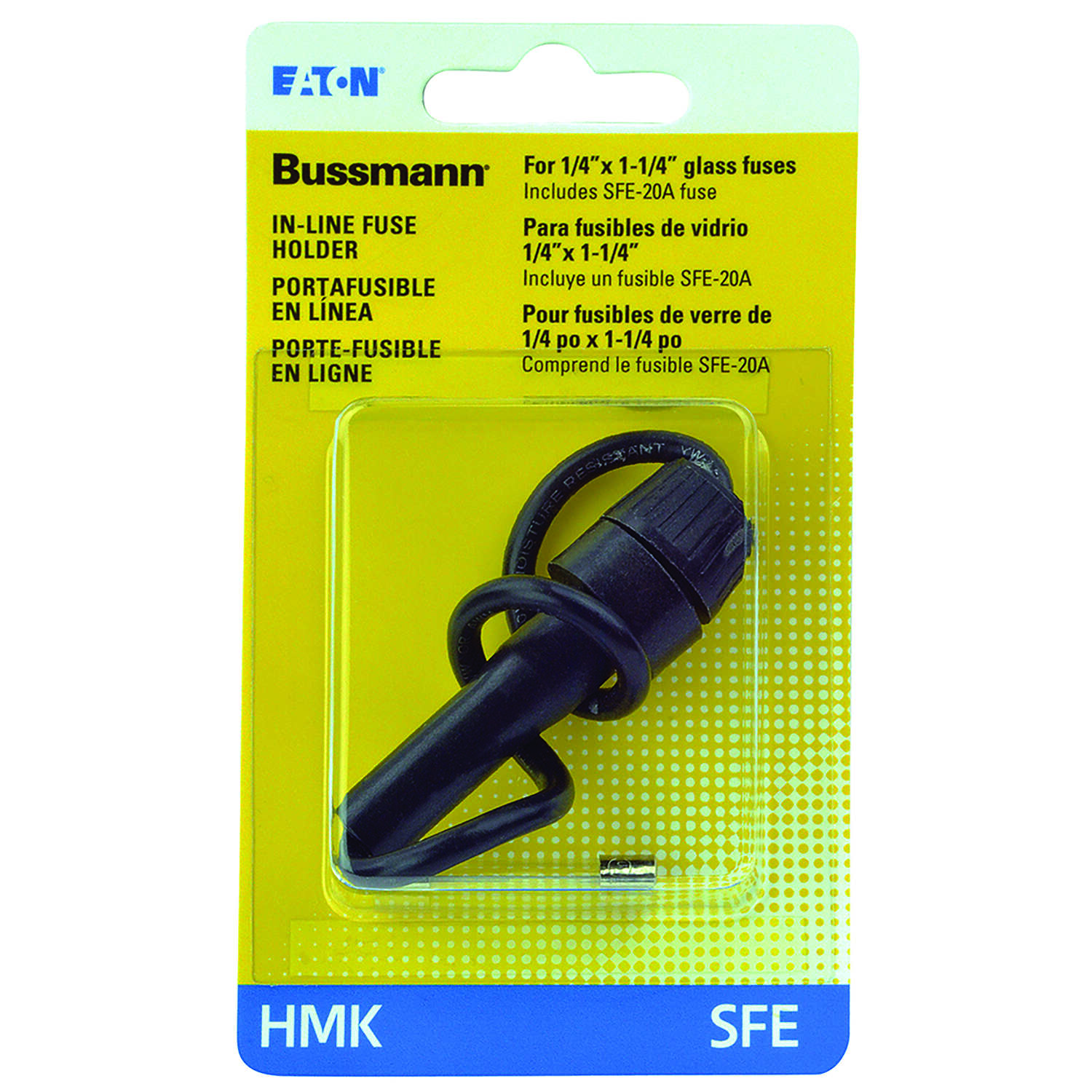 Bussmann 30 amps SFE In-Line Fuse Holder 1 pk